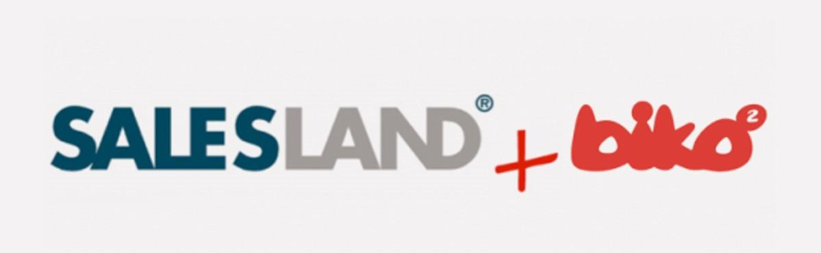 Logotipo Salesland By Biko