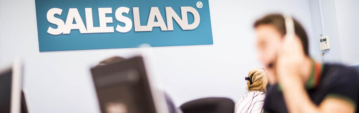 call center Salesland
